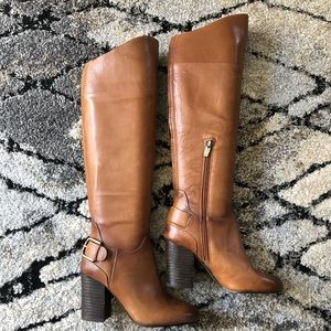 Vince Camuto Sidney Warm Brown Tall Boots